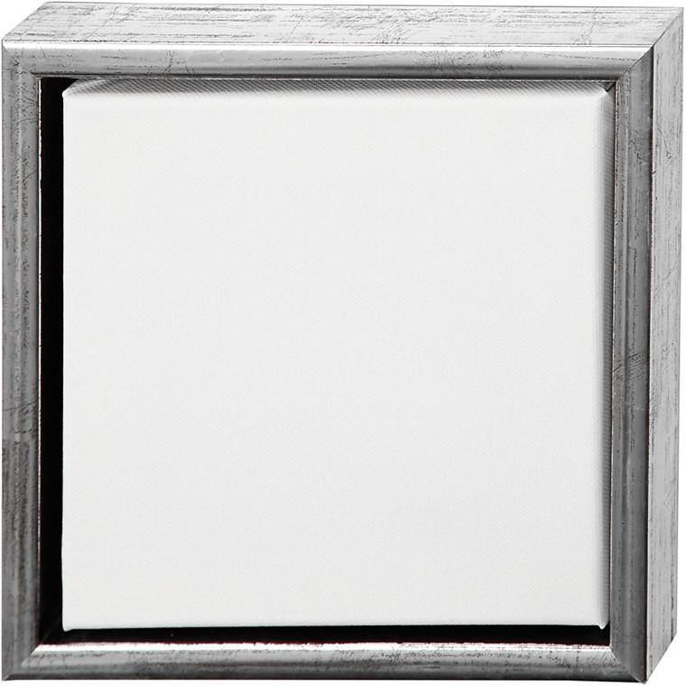 ArtistLine Canvas med ramme, udv. mål 24x24 cm, dybde 3 cm, Lærred str. 20x20 cm, 6stk.