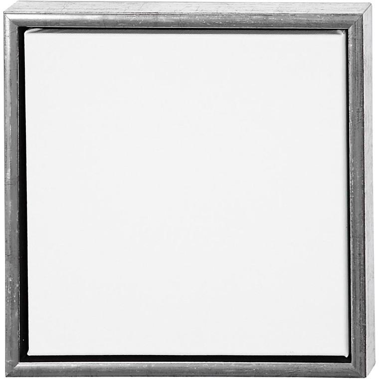 ArtistLine Canvas med ramme, udv. mål 34x34 cm, dybde 3 cm, Lærred str. 30x30 cm, 1stk.