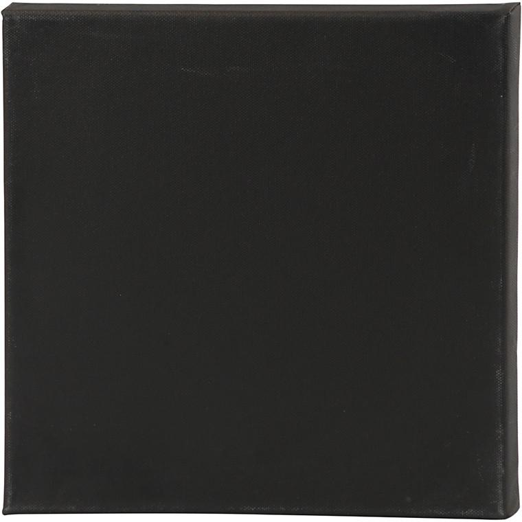 ArtistLine Canvas, str. 30x30 cm, dybde 1,6 cm, sort, 360 g, 10stk.