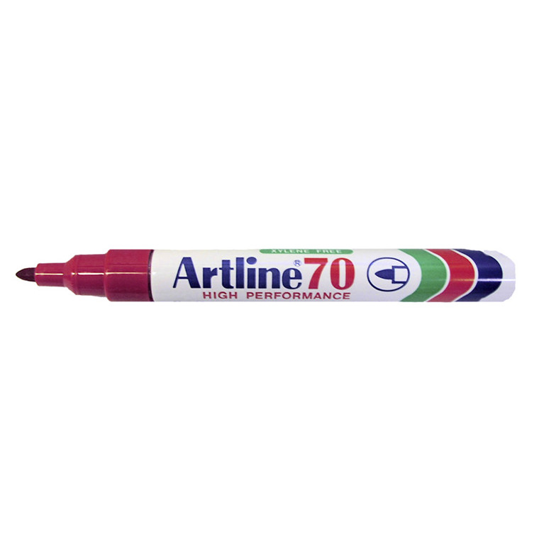 Artline 70 Marker - Permanent rød 1,5 mm