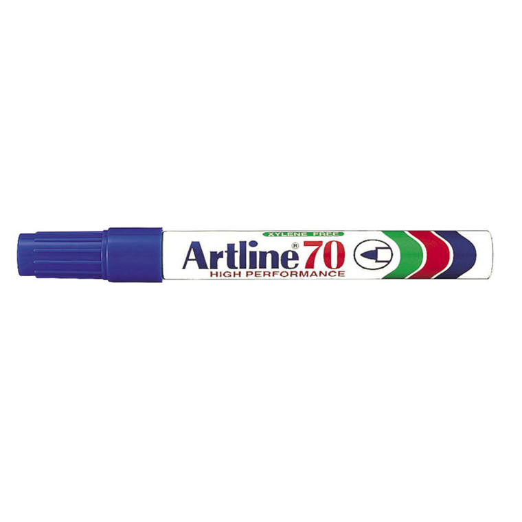 Artline 70 Sprittus - Permanent blå 1,5 mm