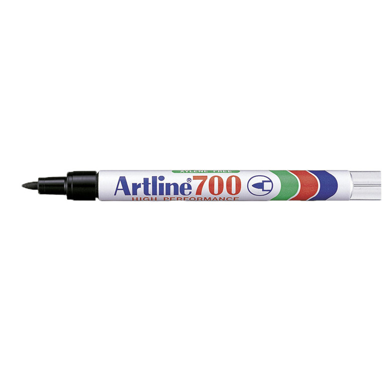 Artline 700 Permanent Marker - Sort 0,7 mm