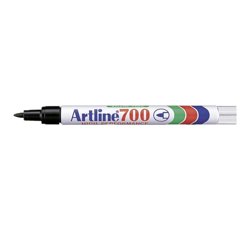 Artline 700 Permanent Marker - Sort 0,7 mm