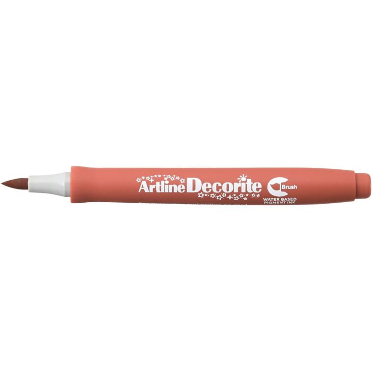 Artline Decorite Brush brown