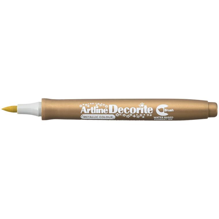 Artline Decorite Brush gold