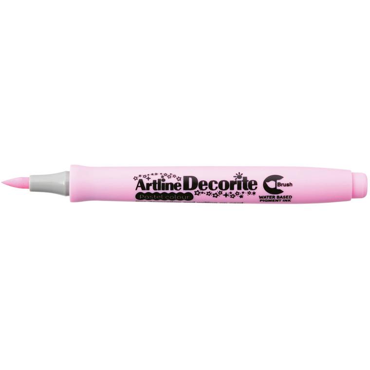 Artline Decorite Brush pastel pink