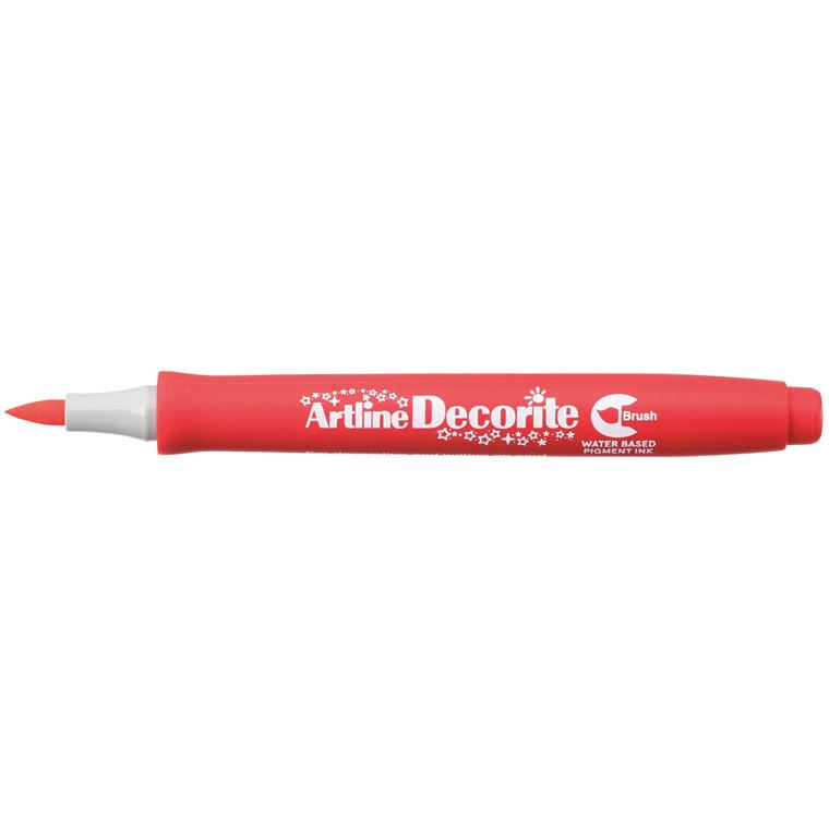 Artline Decorite Brush red