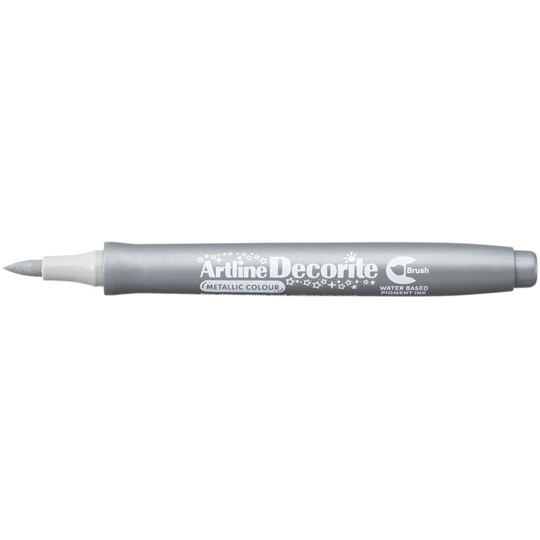 Artline Decorite Brush silver