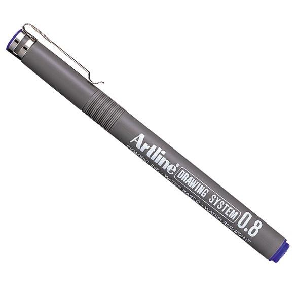 Artline Drawing System 0.8 blå