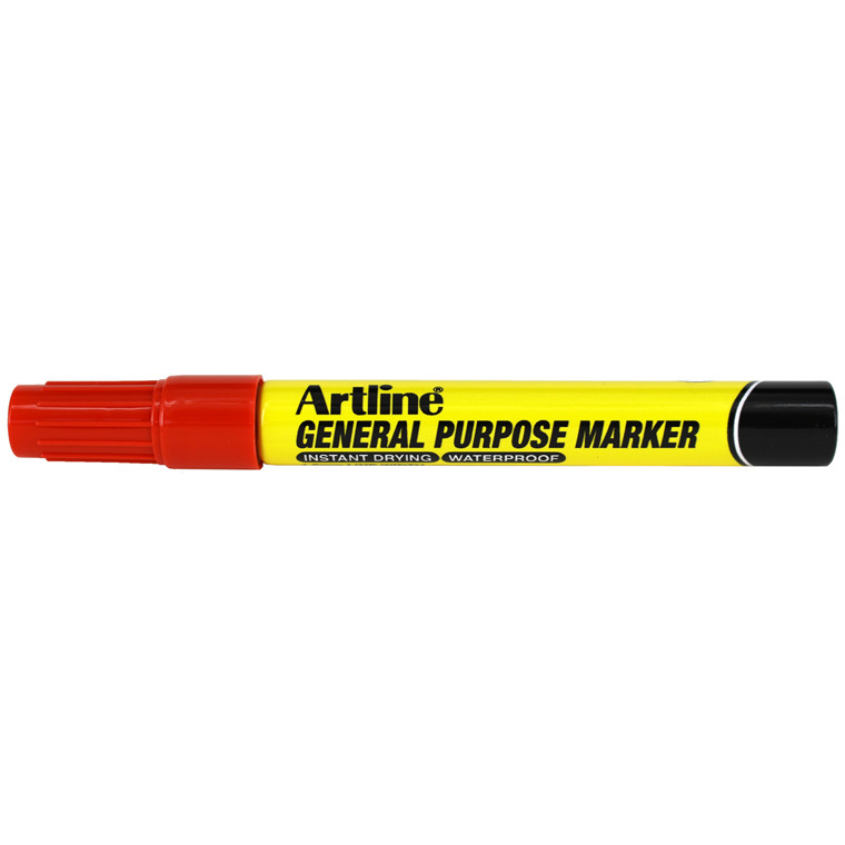 Artline general purpose marker red