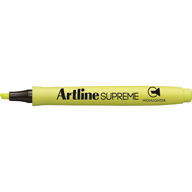 Artline Supreme Highlighter f.gul