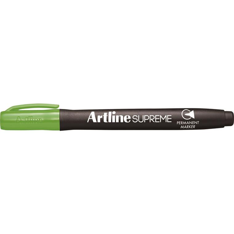 Artline Supreme Permanent gul-grøn