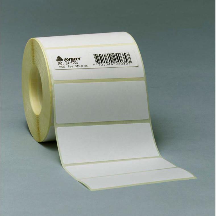 Avery 24026 - Etiketter på rulle 25 x 50 mm - 1000 stk