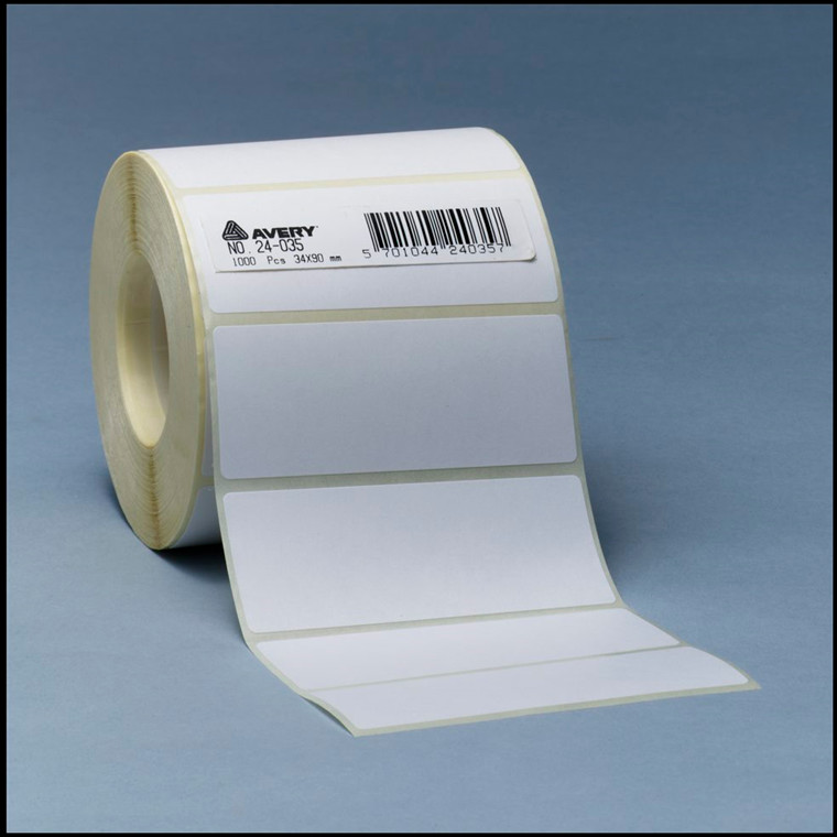 Avery 24037  - Labels på rulle 50 x 80 mm - 1000 stk
