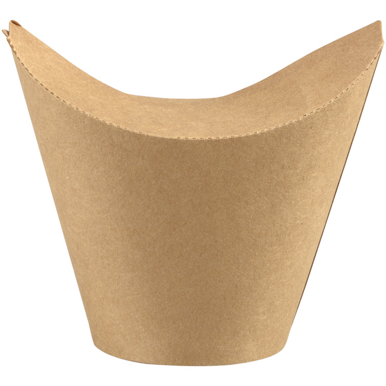 Bæger, Abena Gastro-Line, 94mm, Ø80mm, brun, PLA/pap, 8/6 oz, med foldelåg