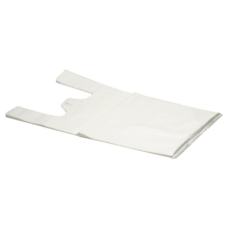 Bærepose i hvid 18 my HD - undertrøje 300 x 75 x 550 mm 2000 stk