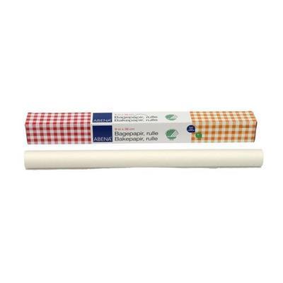 Bagepapir, Abena DK, Svanemærket, FSC MIX, Bleget greaseproof papir, 38 cm x 8 m, 40g/m2, FSC MIX NC