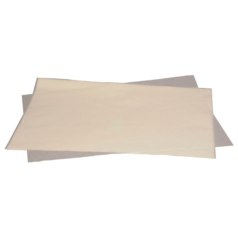 Bagepladepapir silicone 45 x 60 cm 41 gram/m2 - 500 stk