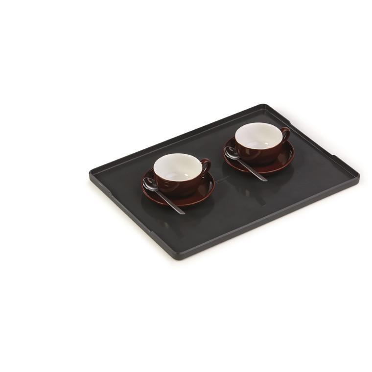 Bakke Coffee Point Tray - mørkgrå og sort