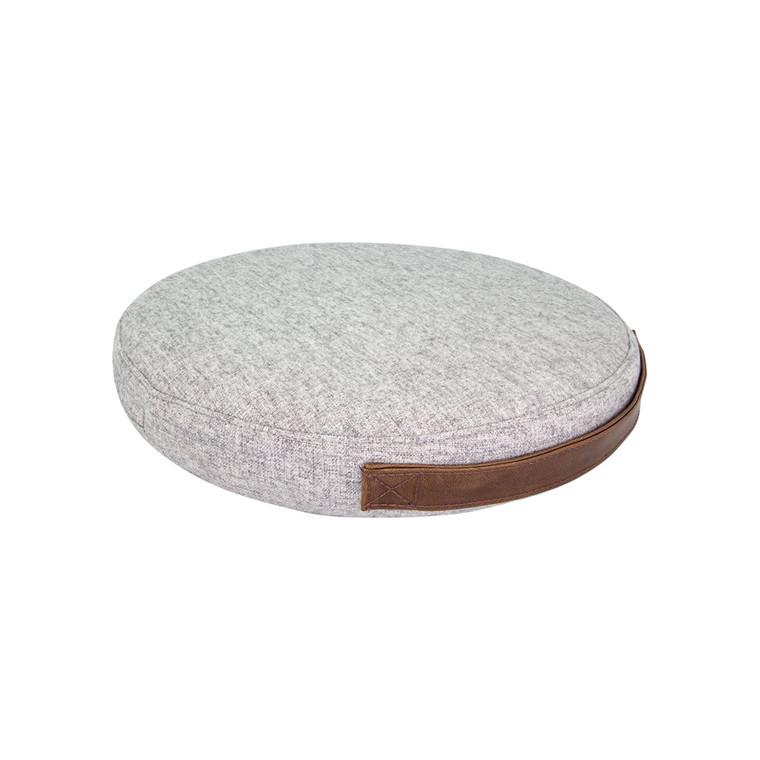 Balancepude Jobout Design filtstof lysegrå 33x5,3cm