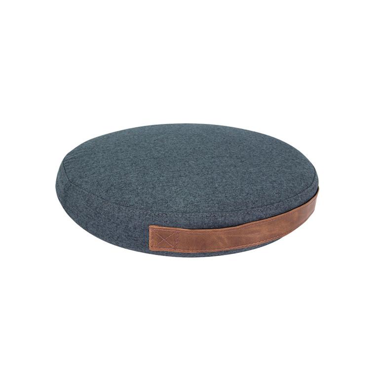 Balancepude Jobout Design filtstof mørkeblå 33x5,3cm