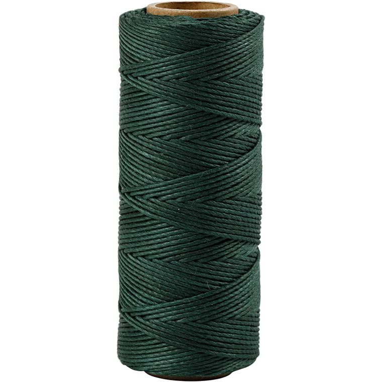 Bambussnor, tykkelse 1 mm, grøn, 65m