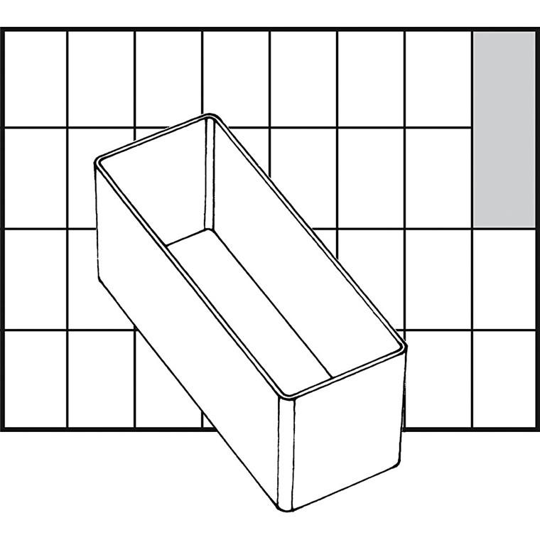 Basisindsats, str. 109x39 mm, Model A9-2, 1 stk.