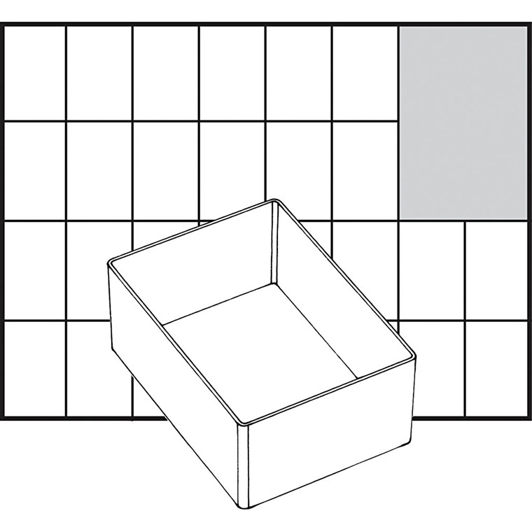 Basisindsats, str. 109x79 mm, Model A7-1, 1 stk.