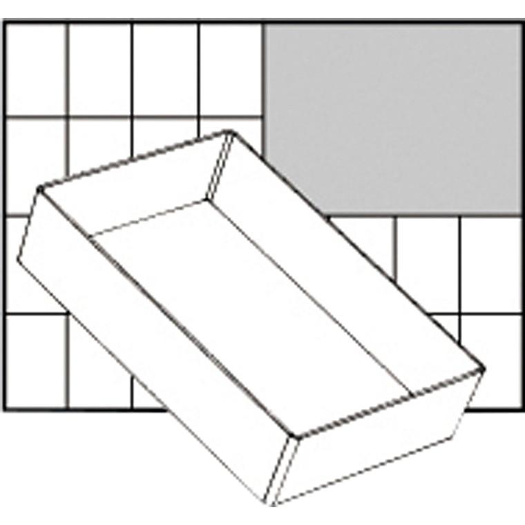Basisindsats, str. 157x109 mm, Model A6-1, 1 stk.