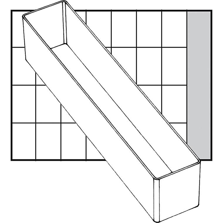 Basisindsats, str. 218x39 mm, Model A9-4, 1 stk.