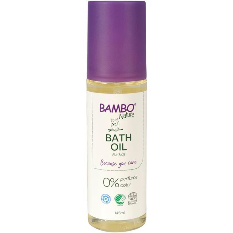 Bath Oil, Bambo Nature, 145 ml, uden farve og parfume