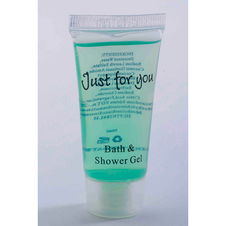 Bath & shower Gel 20 ml Tube 100stk/kar Just for you