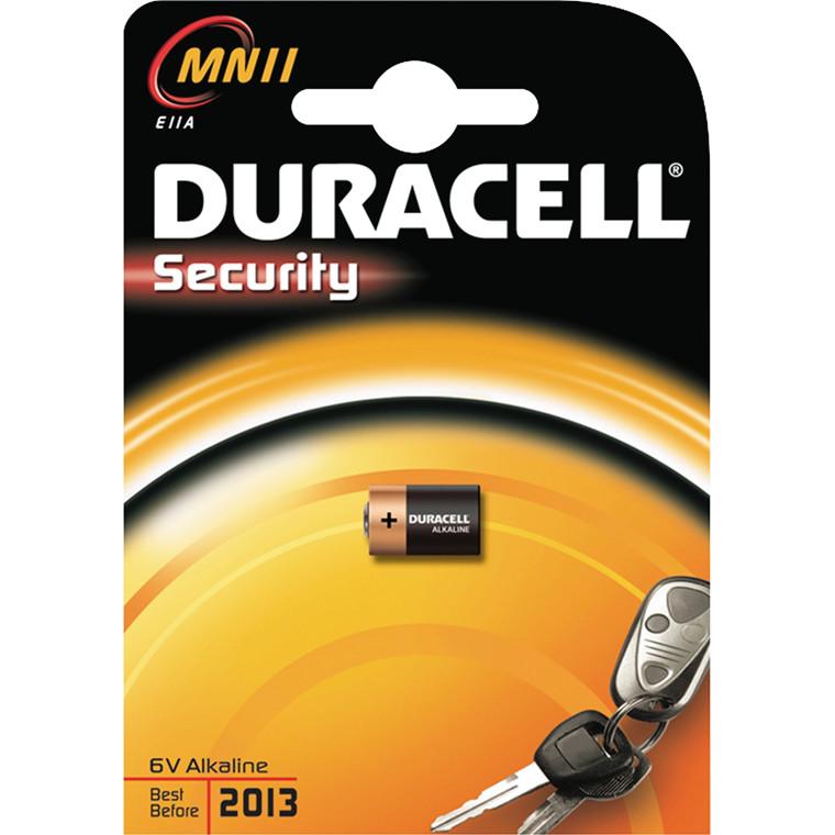 Batteri Duracell Security MN11 6V 1stk/pak