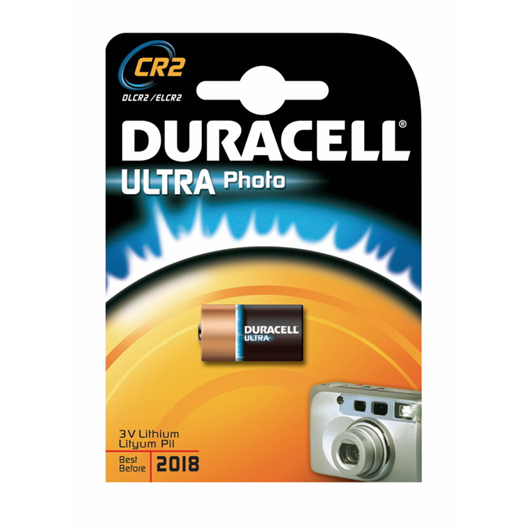 Batteri Duracell Ultra Photo CR2 1stk/pak