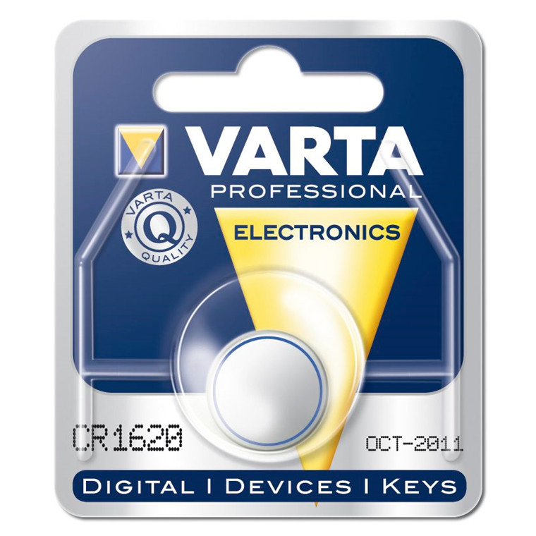 Batteri Electronic Varta CR1620 - 3V 60 mAh
