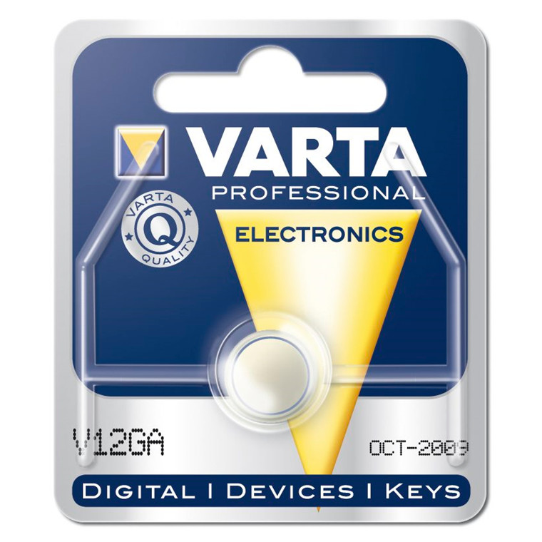 Batteri Electronic Varta - LR43 V12 GA 1,5V 80 mAh
