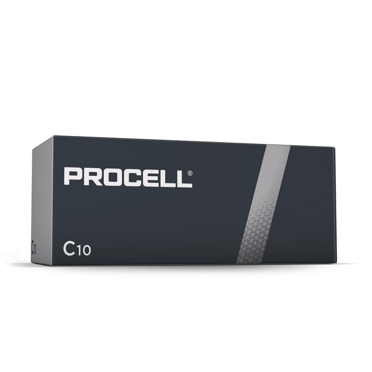 Batteri Procell Industrial C 10stk/pak