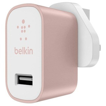 Belkin Home Charger USB 2.4A, Rose Gold