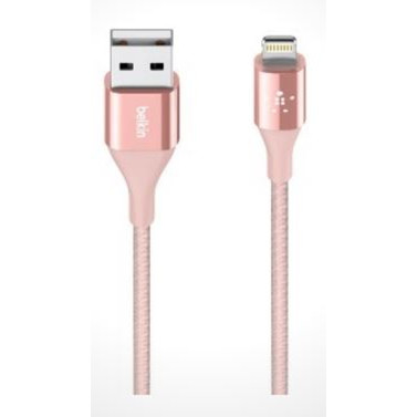 Belkin MIXIT DuraTek Lightning to USB Cable, 1m, Rose Gold