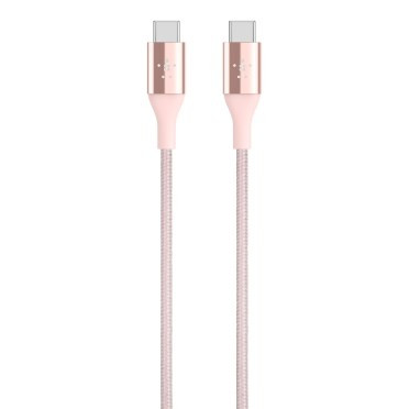 Belkin MIXIT DuraTek USB-C to USB-C Cable, 1.2m, Rose Gold