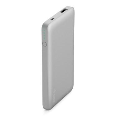 Belkin Pocket Power 5K Power Bank, Silver