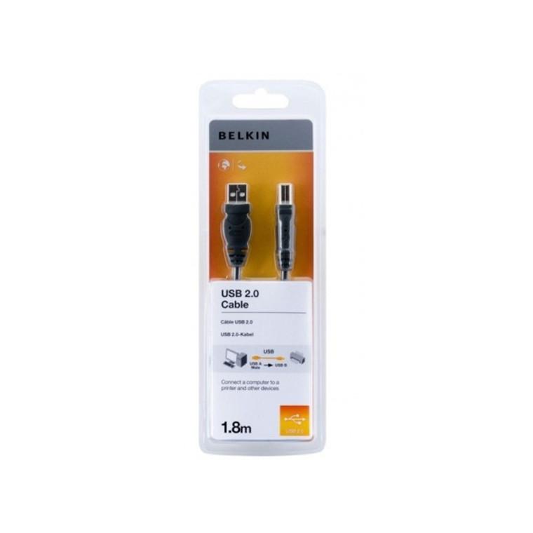Belkin USB A 4pin/B 4pin, 1,8m
