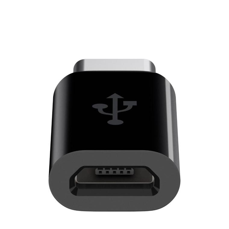 Belkin USB-C to Micro USB Adapter, Black