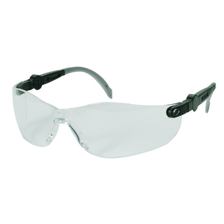 UDSOLGT Beskyttelsesbrille, THOR Vision Clear, justerbare stænger, klar, one size