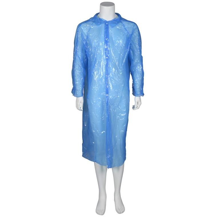 Besøgsjakke, LDPE, blå, xx-large