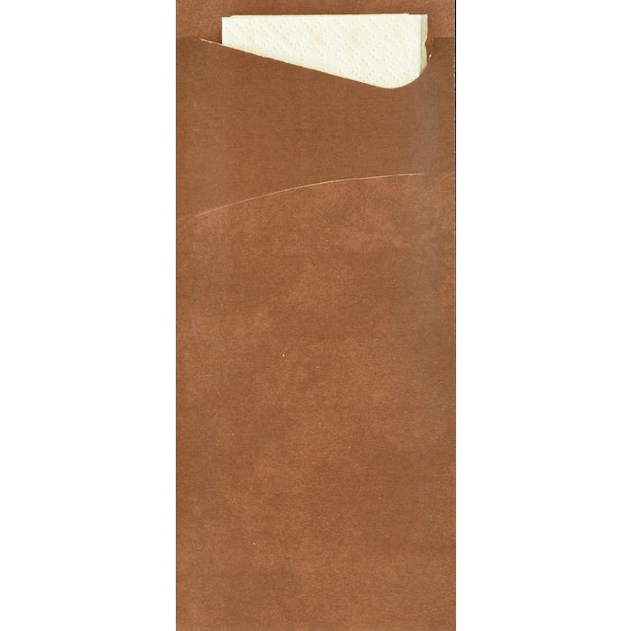 Bestikserviet, Duni Sacchetto Tissue, 8,50x20 cm