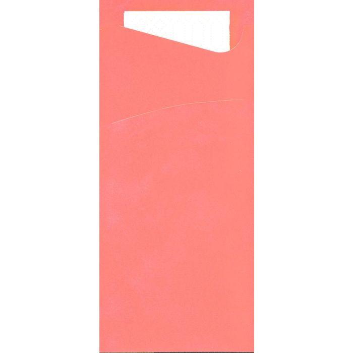 Bestikserviet, Duni Sacchetto Tissue, fuchsia, 8,50x20 cm