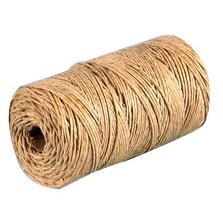 Bindegarn hamp brun 200 meter - 6/6 500 g 5 x 40 m