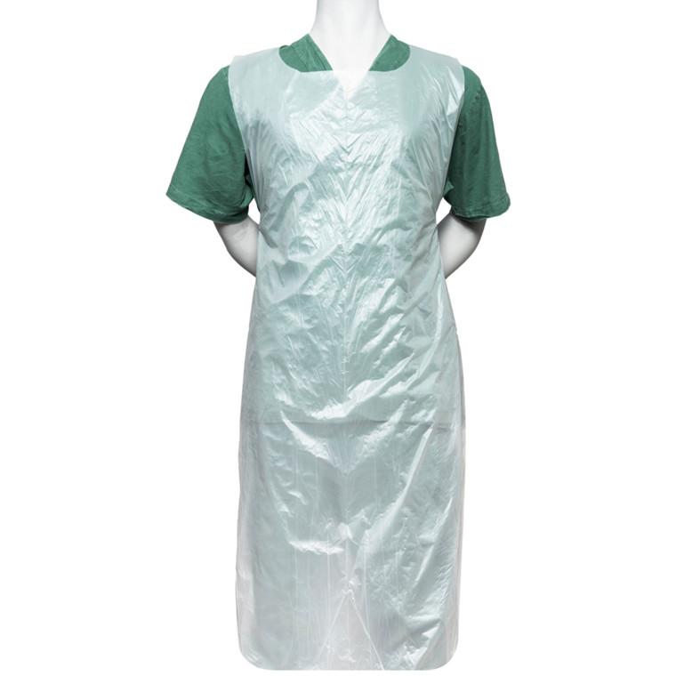 Bionedbrydelig engangsforklæde, Finess Hygiene, 125x80cm, hvid, bioplast, på rulle