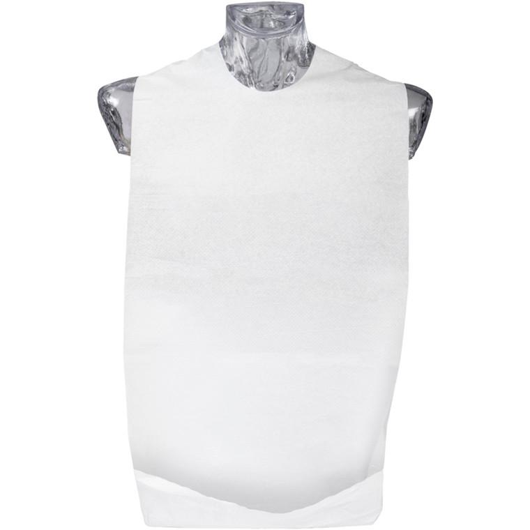 Bionedbrydelig spisestykke , Finess Hygiene, 2-lags, 67x37cm, hvid, bioplast engangs